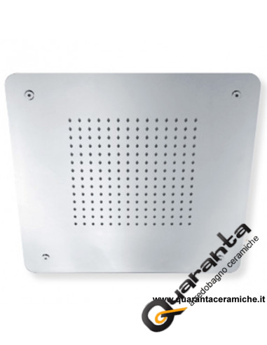 Sphera soffione Rain a soffitto 40x40