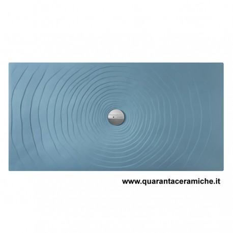 Piatti Doccia Ceramica Flaminia.Piatto Doccia Water Drop 80x120 Nuvola Flaminia Quaranta Ceramiche