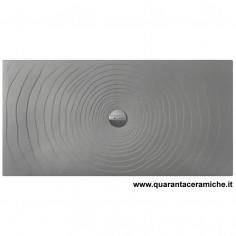 Flaminia Water Drop piatto doccia 80x120 H5,5 cm GRIGIO LAVA
