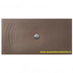 Flaminia Water Drop piatto doccia 80x140 H5,5 cm FANGO