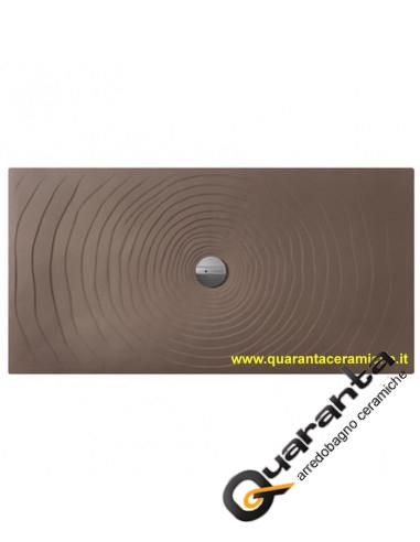 Flaminia piatto doccia water drop 80x140 fango H5,5 cm