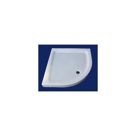 Piatto doccia 80x80 angolo - Basic - Quaranta Ceramiche