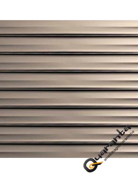 Marazzi Essenziale Struttura Drape 3D Metal 40x120