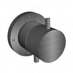 Bongio TIME2020 BASIC deviatore incasso 2 uscite in acciaio inox 916