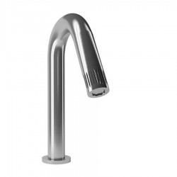 Bongio TIME2020 stainless steel basin tap with progressive cartridge