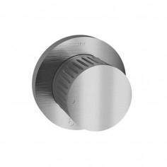 Bongio TIME2020 stainless steel shower mixer with progressive cartridge