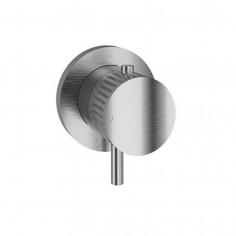 Bongio TIME2020 termostatico incasso coassiale - acciaio inox 916
