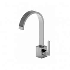 Bongio DOMINO Q Basin tap with click-clack plug