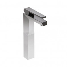 Bongio STELTH High Basin tap with click-clack plug