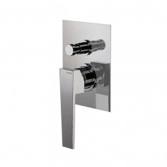 Bongio STELTH wall mounted shower mixer with 2 ways automatic diverter