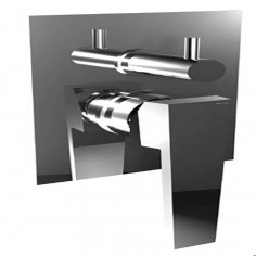 Bongio STELTH wall mounted shower mixer with 2 ways meccanic diverter