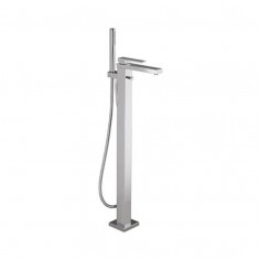 Bongio STELTH freestanding bath tap with shower set and diverter