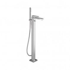 Bongio STELTH Miscelatore vasca da pavimento con set doccia e deviatore