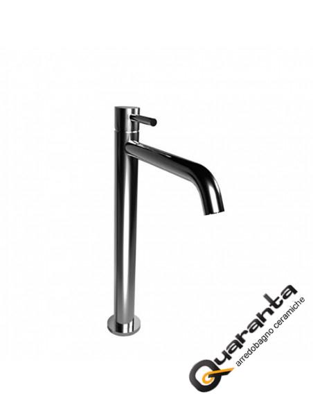 Bongio ON Miscelatore lavabo alto con scarico click clack in ottone