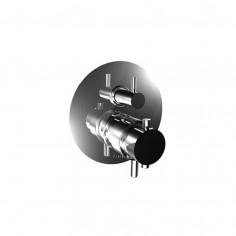 Bongio ON Termostatico incasso coassiale con deviatore meccanico a due uscite