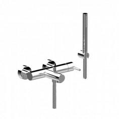 Bongio ON externarl bath tap with shower set