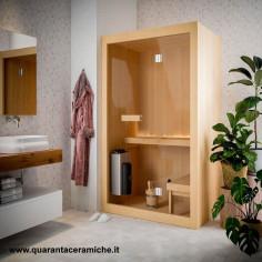 Blubleu sauna Fabula 210X135 h198 4,5 kW