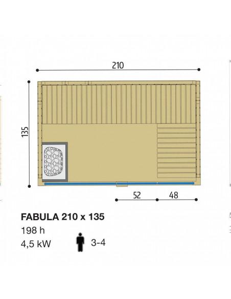 Albatros cabina doccia Cube 1160x1000 VP versione sinistra