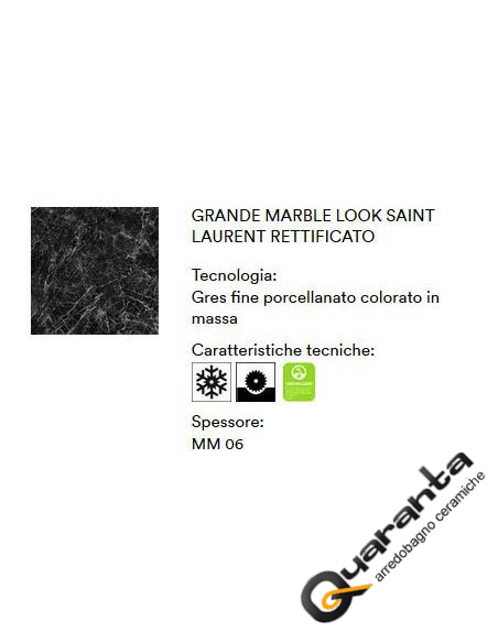 MARAZZI GRANDE MARBLE LOOK SAINT LAURENT 120X120