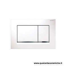 Flush plate Geberit Sigma 30 white/chrome/white