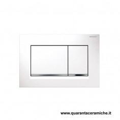 Placca di comando Geberit Sigma 30 bianco/cromato/bianco