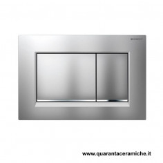 Flush plate Geberit Sigma 30 chrome/satin/chrome