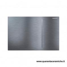 Flush Plate Geberit Sigma 70 brushed steel