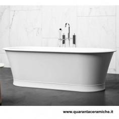Blubleu Freestanding white Bath Baltimore 180x88x57