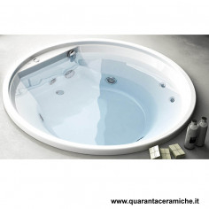Kerasan Retrò vasca bianca 170x77 con piedi, colonna e sifone di scarico