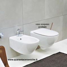 Ceramica Flaminia Spin sanitari sospesi coprivaso avvolgente