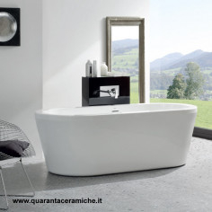 Jacuzzi Vasca freestanding Essential Jadis 180x80x60 H