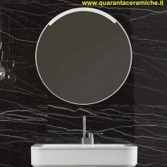 Ceramica Flaminia Bloom lavabo a consolle sospeso cm 107 bianco
