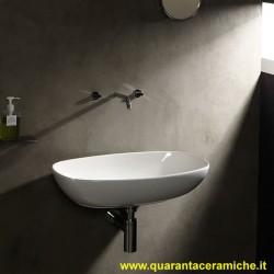 Flaminia Nudaslim 60 lavabo da appoggio o sospeso