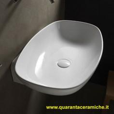 Flaminia Nudaslim 75 lavabo da appoggio o sospeso