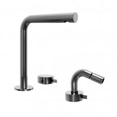 Fantini AF/21 2 holes high Basin and bidet taps with progressive cartridge
