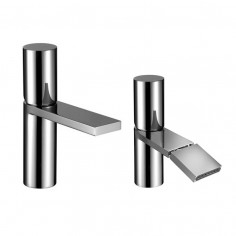 Fantini Milano Basin and bidet taps with traditional cartridge