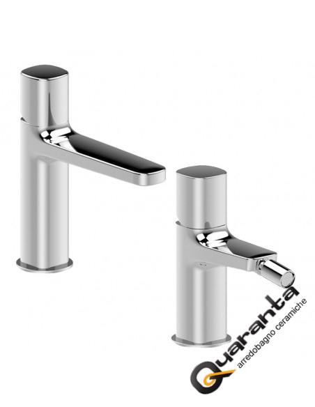 Fantini Lamè Miscelatore lavabo monoforo cromo con cartuccia tradizionale