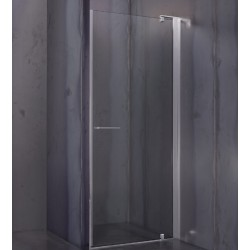 Cesana Leonardo, shower enclosure with hinged door 77-79,5 cm