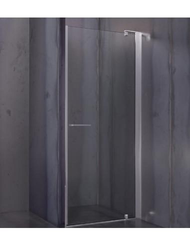 Porta Per Cabina Doccia.Cesana Serie Leonardo Cabina Doccia A Nicchia Con Porta Battente 87 89 5 Cm