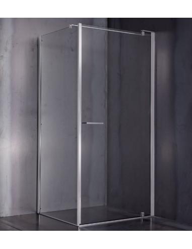 Porta Per Cabina Doccia.Cesana Leonardo Cabina Con Porta Battente Ad Angolo 77 79 5cm E1b2a10