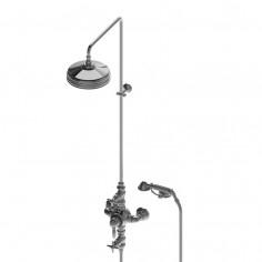Stella Italica Gruppo termostatico esterno con soffione e doccetta