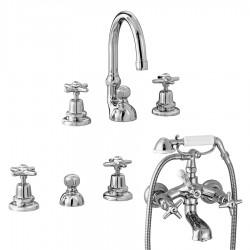 Stella Italica Gruppo lavabo, bidet e vasca
