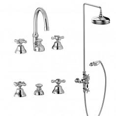 Stella Roma Gruppo lavabo, bidet e doccia