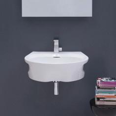 Flaminia Void lavabo da appoggio o sospeso cm 60