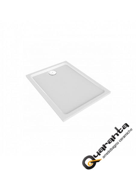 Pozzi Ginori piatto doccia 80x140 H6 cm bianco