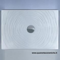 Flaminia Water Drop piatto doccia 80x80 H5,5 cm