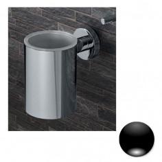 Colombo Serie Plus Porta bicchiere inamovibile cromo o nero