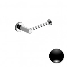 Colombo Serie Plus Porta rotolo reversibile cromo o nero