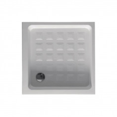 Kerasan Retrò Shower Tray 900x900 H 200 with waste drain