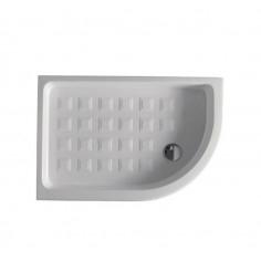 Kerasan Retrò piatto doccia 80x120 dx semicircolare